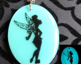 Glow in the Dark Fairy Pendant