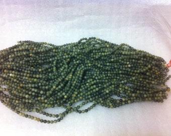 CONNEMARA MARBLE 6mm beads drilled thru x 65
