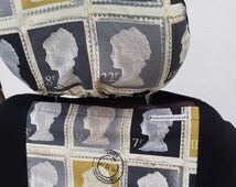 British Stamp pair of front seat covers: fit all car van and truck seats