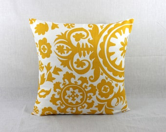 Decorative Pillows for Couch - Yellow Decorative Sofa Pillows Covers 0017