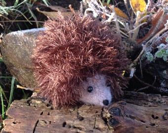 Hedgehog.....Knitted And Felted Hedgehog.
