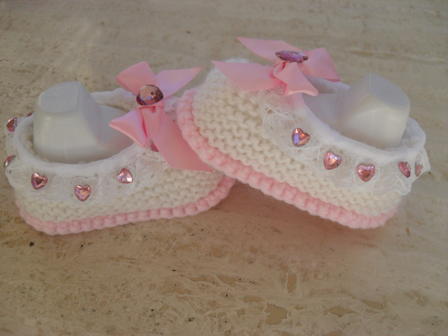 Knitting Pattern For Baby Girl Shoes : Instant Download Knitting Pattern Baby Girl Shoes Quick And
