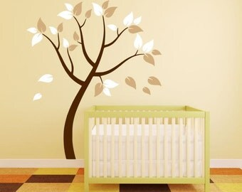 Blowing Tree Decal for Nursery