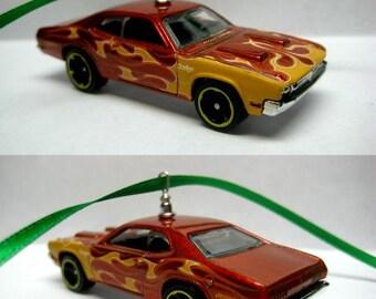 1971 Mopar Dodge Demon Muscle Car Christmas Tree Ornament