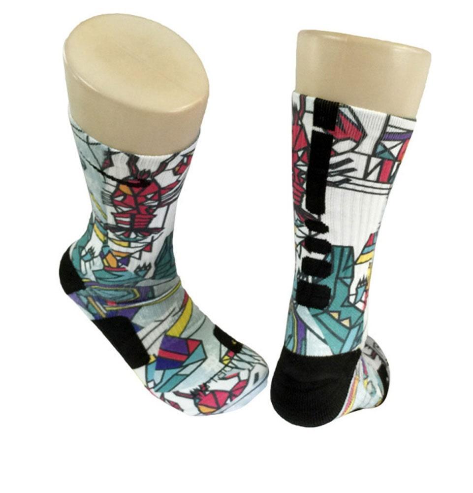 Custom gumbo nike elite socks for Custom elite com