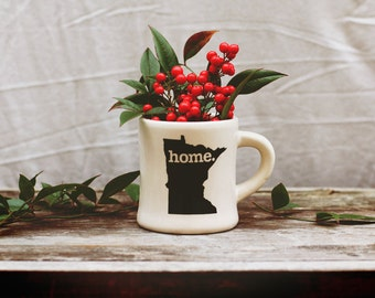 Minnesota home. Ceramic Coffee Mug