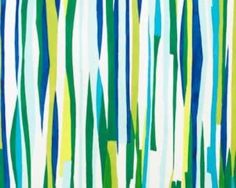 Alexander Henry - Seaweed Stripe - Pool - Item #8253C