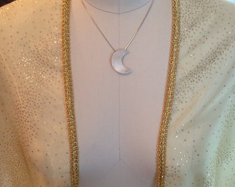 Stevie Nicks inspired Gold Dust Woman shawl cape clothing