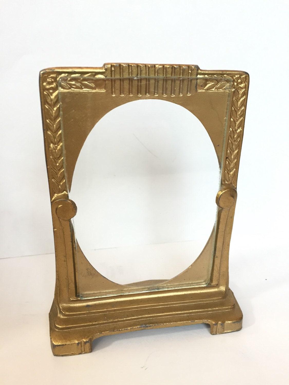 Vintage Picture Frame Antique Art Deco Mini Frame