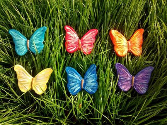 Large outdoor butterfly decorations garden decoration ideas for Outdoor butterfly decor