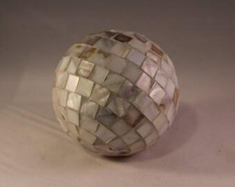 Decorative Shell Balls, Home Decor, Coastal Living