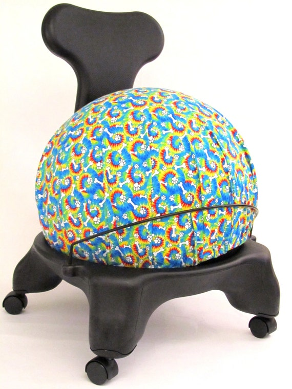 Fitball balance ball chair - Exercise Ball Chair Cover Fits Isokinetics By