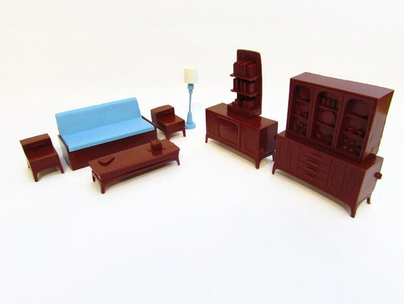 Vintage 1 2 Scale Marx Imagination Dollhouse By Foxlanevintage