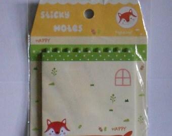 Fox Sticky Notes
