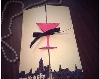 Sex in the city invitations for birthdays