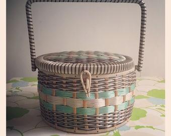 Sale*  Vintage Sewing box circa 1950s
