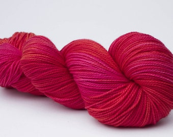 Baah La Jolla Yarn Color My Sweet Valentine Hand Dyed Premium Artisan Yarn!    400 Yards!