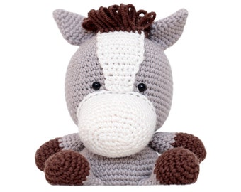 Fat Face Horse Amigurumi Pattern