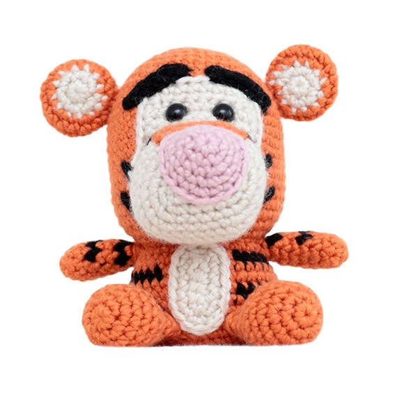 Amigurumi Patterns Tiger : Fat Face Tiger Amigurumi Pattern