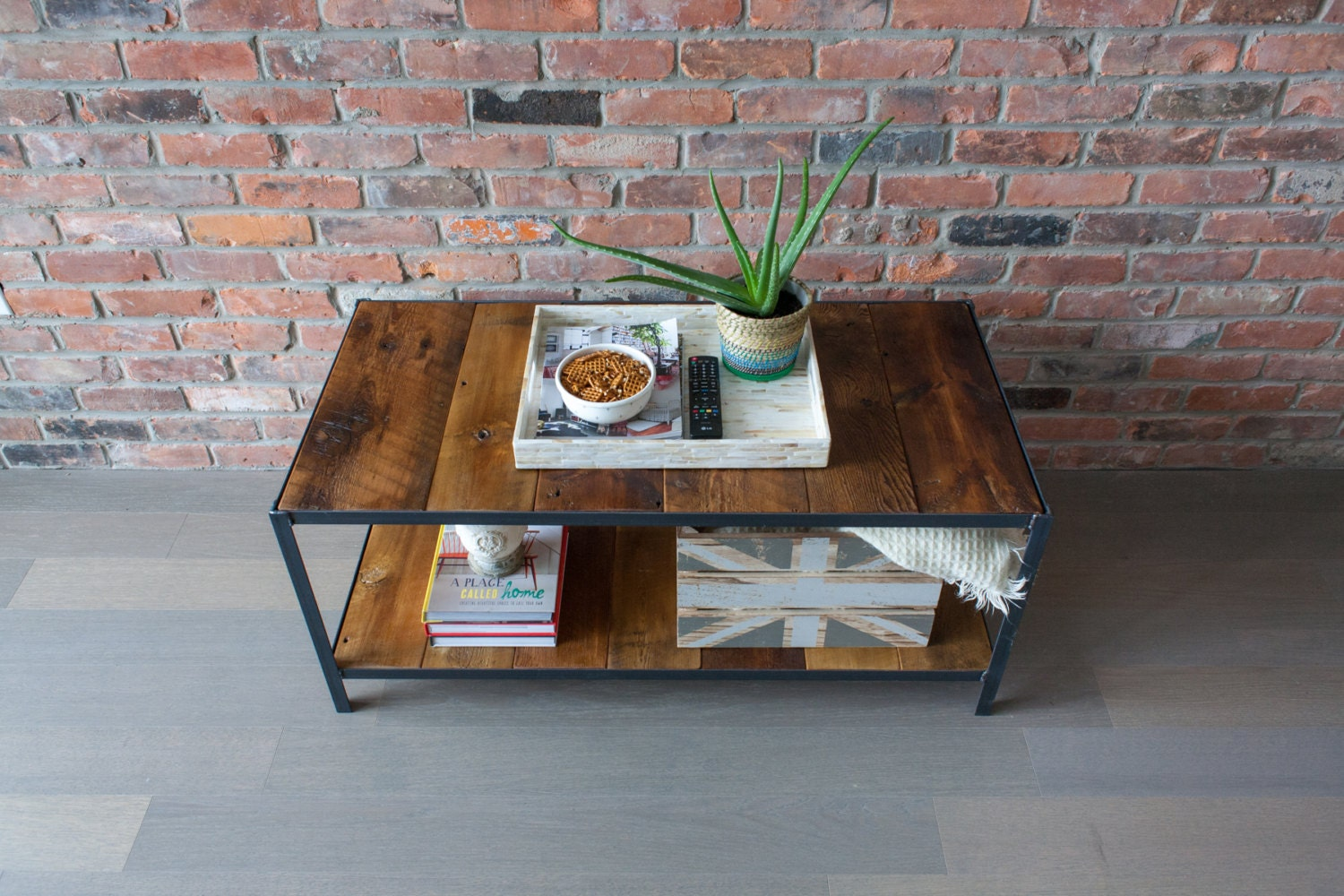 Coffee Table Reclaimed Barn Board Wood By Sonofawoodcutter On Etsy