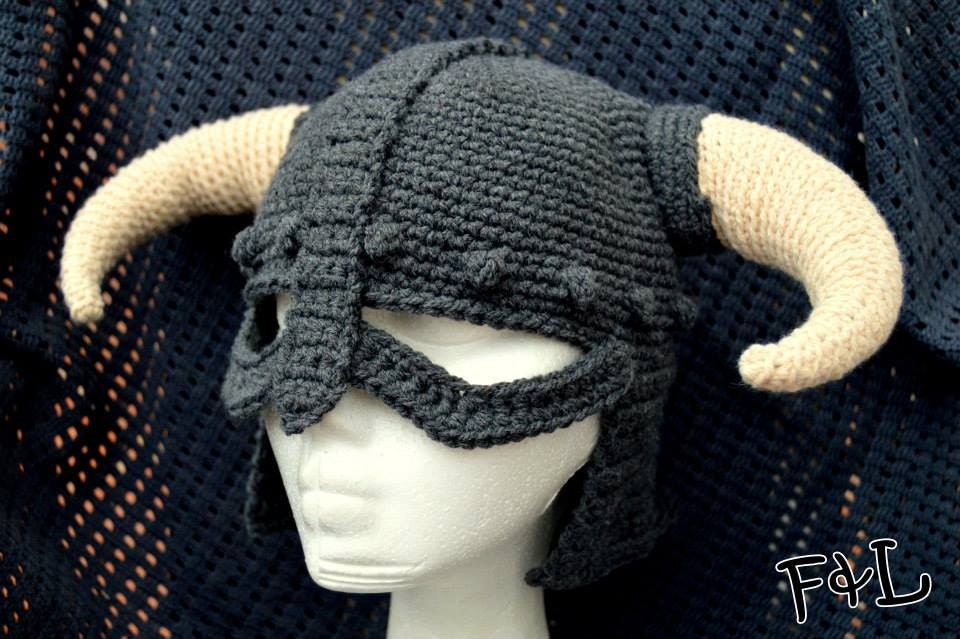 Crochet viking helmet Adult size by Confieltroylanas on Etsy