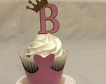 Princess cupcake topper