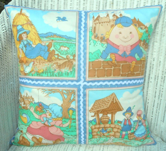 Little boy blue nursery fabric panel from jareddesigns on for Little boy fabric