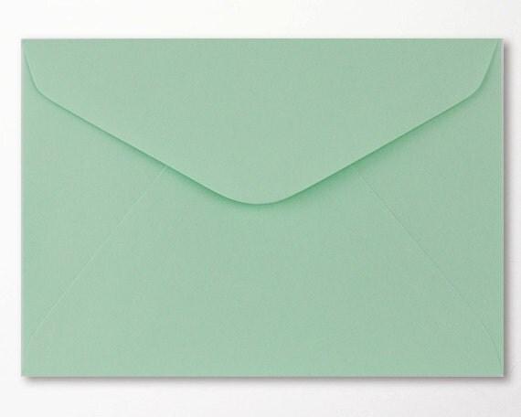 Mint Envelopes C6 Envelope Matte 4x6 Inch 114 x 162mm Suitable