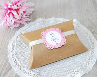 20 baby shower tags, favor tags, custom label, birthday tags