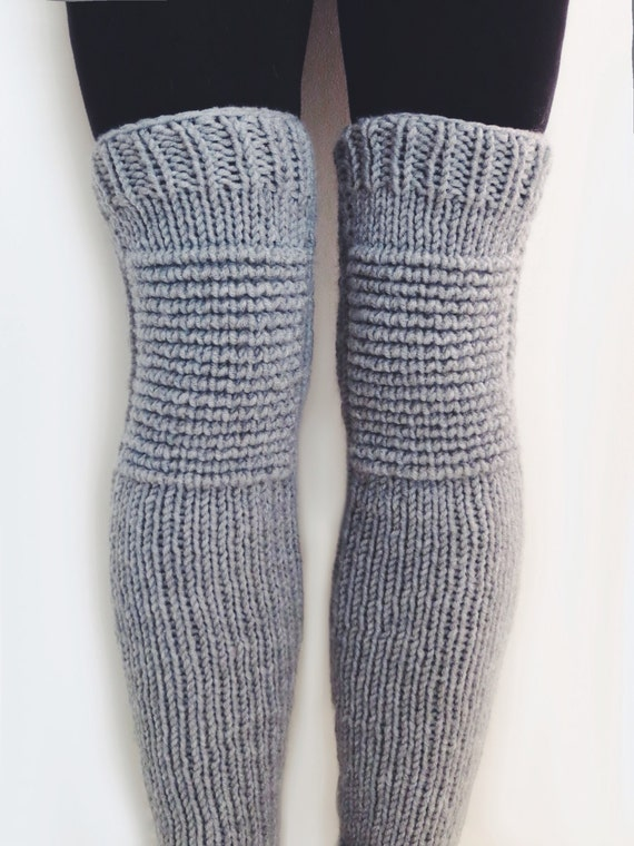 PATTERN for Knit Leg Warmers Motorcycle Padded Quilted Leggings // Moto Leg W...