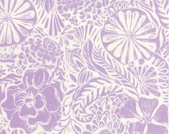 Half Yard Horizon - Flora in Orchid Purple - Cotton Quilt Fabric - designed by Kate Spain for Moda Fabrics - 27190-15 (W2296)