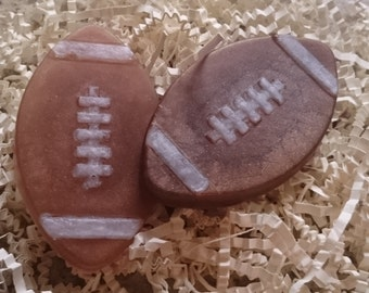 3.5 oz Football Soap x 3