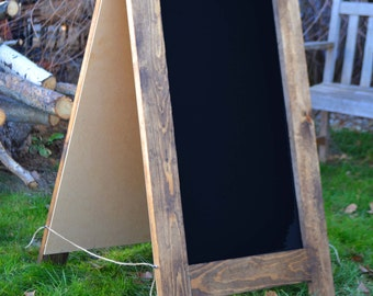 Rustic Sandwich Chalkboard 40x24, A-Frame Chalkboard, Rustic Decor, Menu Board, Bakery Sign, Outdoor Sign, Outdoor Chalkboard, Restaurant
