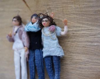 Franzeska miniature halfscale made to order doll
