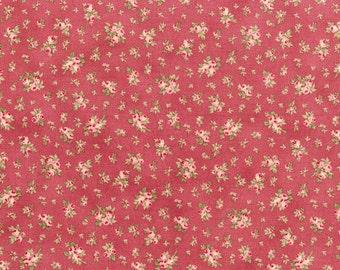 RJR Fabrics Faded Splendor 2047 03 Rose Rosebuds Yardage by Robyn Pandolph