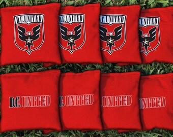 DC United Cornhole Bags - MLS Licensed