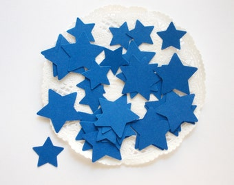 Royal Blue Star Confetti, Party Decor, Table Confetti, 200 Ct., Ships in 2-3 Business Days