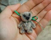"Miniature Teddy Bear OOAK 4.5cm groß,  bei ""toyZZ"""