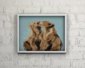 Bear Kisses *INSTANT DOWNLOAD*