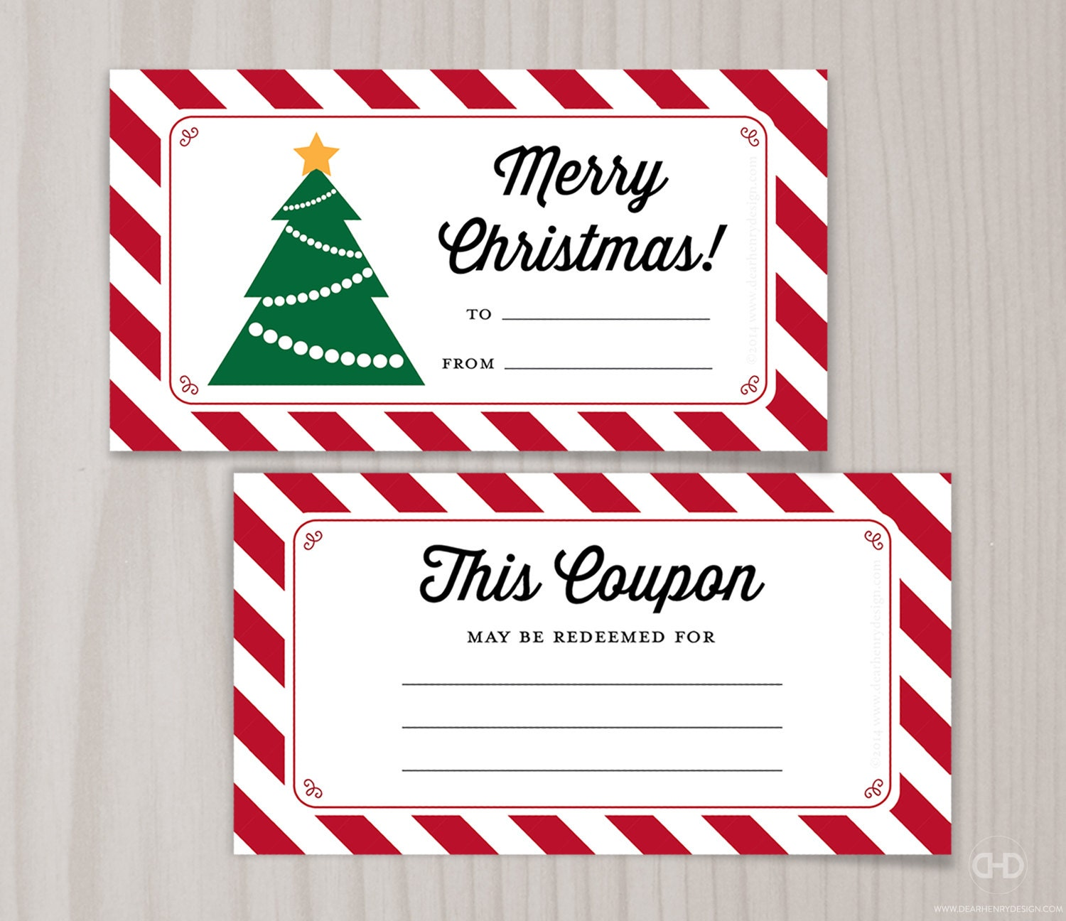blank printable coupons blank christmas coupon book last 🔎zoom