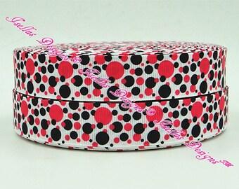 Pink & Black Dot's