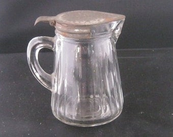 Small Vintage Syrup Pitcher