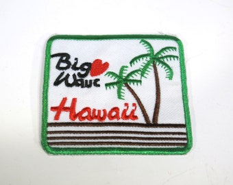 "Iron-on ""Hawaii"", applique, application"