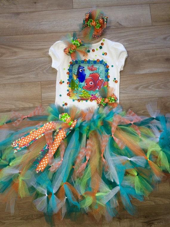 finding nemo inspired birthday party tutu set disney your