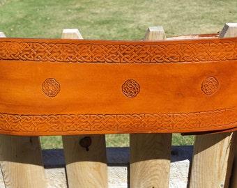 "5"" Leather Belt Girdle Kidney Belt"