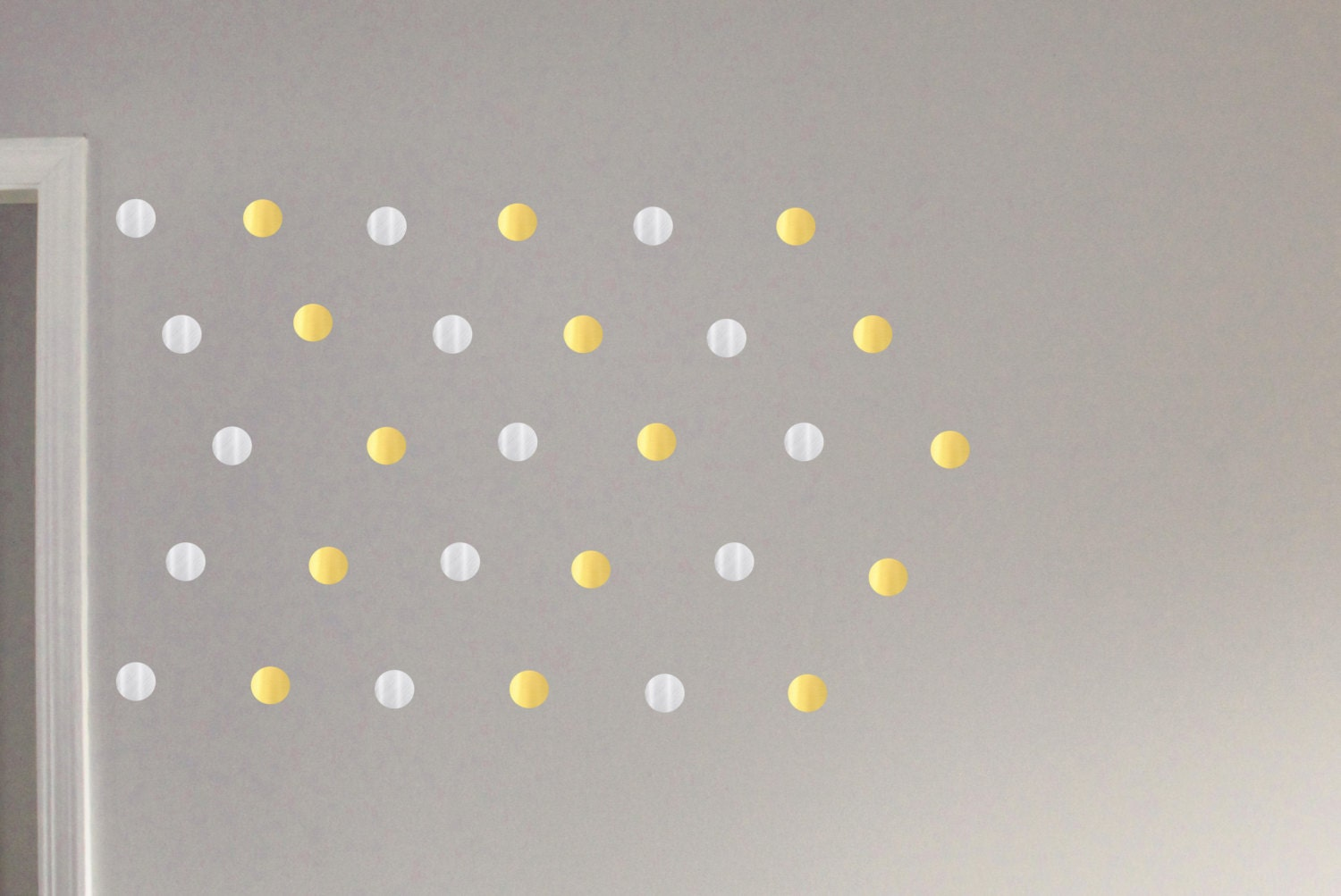 Gold Circles Wall Decor : Gold circle decals geometric wall decor by bioncaalexandria