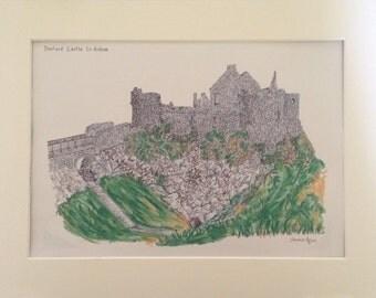 Dunluce Castle Print