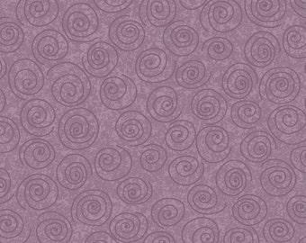 "Free Spirit ""Designer Pinwheels"" Lavender Tonal Fabric - P23 - Cotton Fabric"