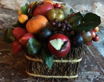 Basket filled with Fruits for Table