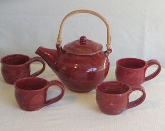Teapot Set 5 piece